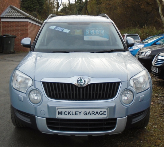 skoda sold yeti se tdi cr 110 4x4 mickley garage. Black Bedroom Furniture Sets. Home Design Ideas